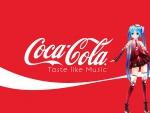 Coca Cola Miku