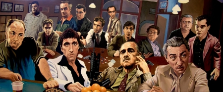 The Bad Guys - goodfellas, The Bad Guys, godfather, gangsters, sopranos, The Bad Guys justin reed, scarface