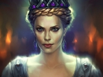 Queen Ravenna (Charlize Theron) art