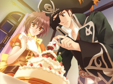 Christmas Cake Other Anime Background Wallpapers On Desktop