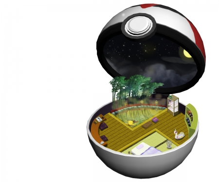 Timer Ball - item, object, hd, cg, objects, pokemon, beautiful, pikachu, round, ball, anime, beauty, realistic, items, chibi, plain, cute, pokeball, kawaii, 3d, simple, white