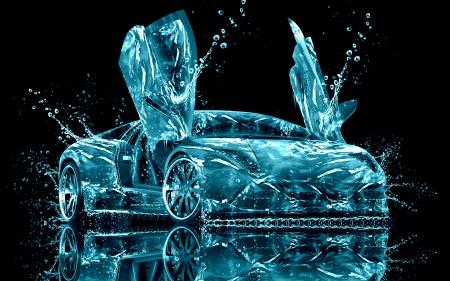 Lamborghini Water Abstract   Lamborghini, Water, Abstract, Cars