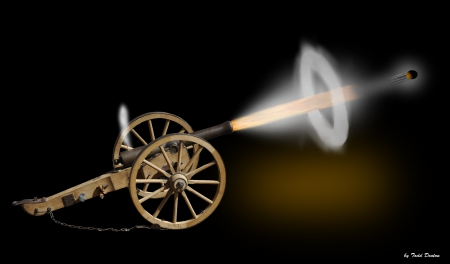 Holy Cannon Fire - Other & Technology Background Wallpapers on