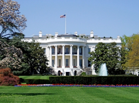 The White House - washington dc, obama, oval office, The White House