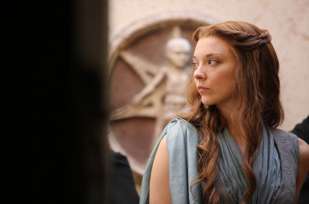 Game of Thrones - Margaery Tyrell - house, westeros, game, Margaery, picture, show, fantasy, tv show, wallpaper, Natalie Dormer, George R R Martin, GoT, essos, fantastic, HBO, a song of ice and fire, Game of Thrones, thrones, medieval, entertainment, skyphoenixx1, Tyrell