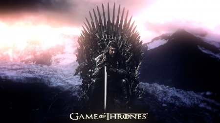 Game of Thrones - westeros, game, picture, show, fantasy, tv show, wallpaper, George R R Martin, GoT, essos, Stark, iron throne, fantastic, houses, HBO, a song of ice and fire, Game of Thrones, thrones, Eddard, medieval, Ed, entertainment, skyphoenixx1, Sean Bean