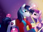 Shining Armour and Princess Cadence