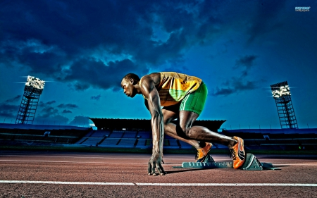 Usain Bolt fast, faster, the fastest. - track, speed, olympics, runner, usain bolt image, fast