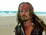 Johnny Depp as Captain Sparrow