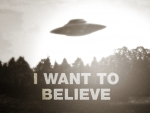 ufo the x-files want to believe text