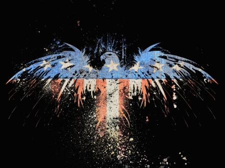 American Eagle Fantasy Abstract Background Wallpapers On Desktop