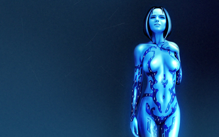 Cortana from Halo - halo 2, master chief, artificial intelligence, ai, halo, halo 3, cortana