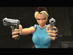 Tomb Raider Anniversary Blonde Pointing