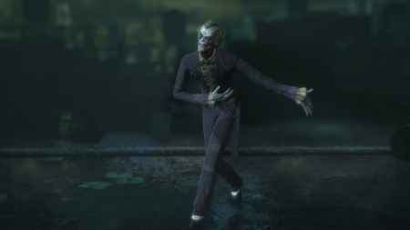 The Joker (Sick) - gotham city, joker, gotham, arkham asylum, arkham city, batman, arkham, villain