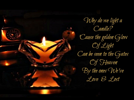 Why Do We Light A Candle Motivational Quotes Wallpapers