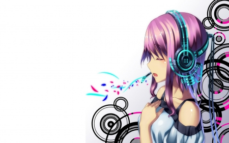 My Music Anime Music Wallpapers And Images Desktop Nexus