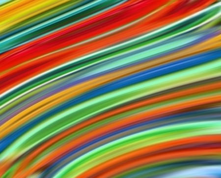 colors of rainbow - colors, rainbow, abstract, patterns