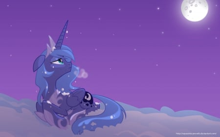 Princess Luna - MLP - Princess Luna, My Little Pony, Friendship is Magic, Moon
