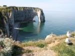 Coast of Etretat, France