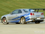 Nissan skyline  Fast and furious
