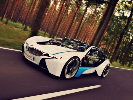 Bmw I8 Concept Bmw Cars Background Wallpapers On Desktop Nexus