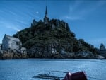 mythical mont saint michel in france