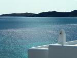 Shimmering Ocean Santorini