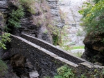 wonderful sentry bridge in watkins glen ny