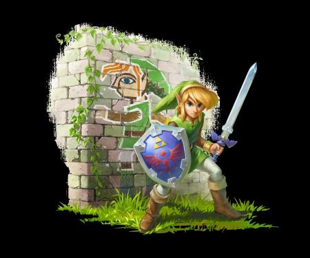 The Legend Of Zelda A Link Between Worlds Zelda Video Games