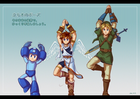 Keeping the balance - Pit, Megaman, Link, Nintendo, Super Smash Bros 4
