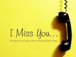 I Miss You...!