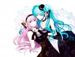 Hatsune & Megurine