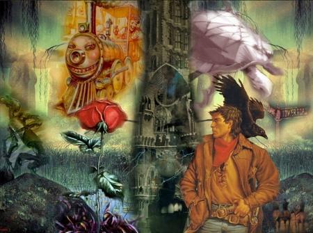 The Dark Tower Fantasy Abstract Background Wallpapers On Desktop Nexus Image 1559070