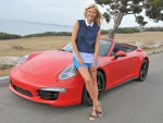 Maria Sharapova Knows Cars Wow Awesome