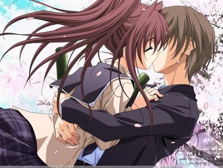 Anime Sweet Couple - anime, couple