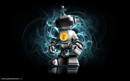 Evil Fl Bot 3d And Cg Abstract Background Wallpapers On