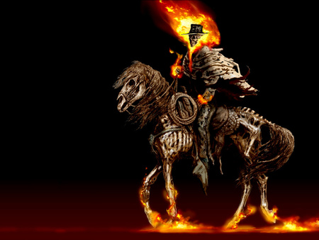 Ghost-Rider - 3D and CG & Abstract Background Wallpapers ...