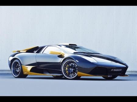 2007 Model Hamann Lamborghini Black Yellow Lamborghini Cars