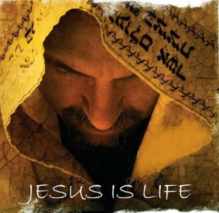 Jesus is Life - shawl, friend, beautiful, yeshua, jesus, heaven, temple, famous, jew, hebrew, synagogue, celebrity, shul, life, man, church, singer, israel, saviour, jewish, god