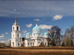 lovely country orthodox church