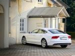 White Audi A7