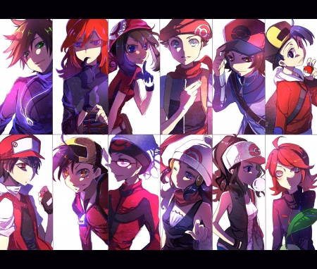 Heroes - Black, Red, White, Diamond, Sapphire, Silver, Platinum, Ruby, Green, Gold