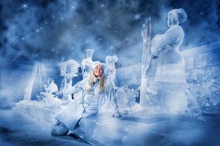 Snow Queen - regina, zapada, iarna, magie