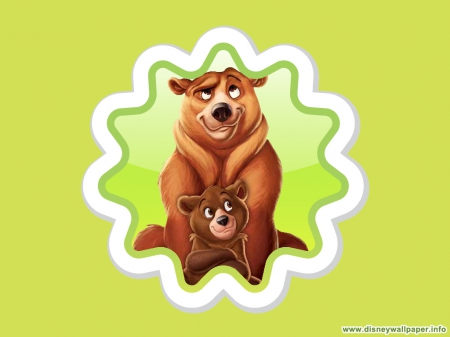 Brother Bear Movies Entertainment Background Wallpapers