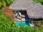 Lush Tropical Villa Hidden on Island Moorea