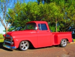 1959 Chevrolet custom pickup truck