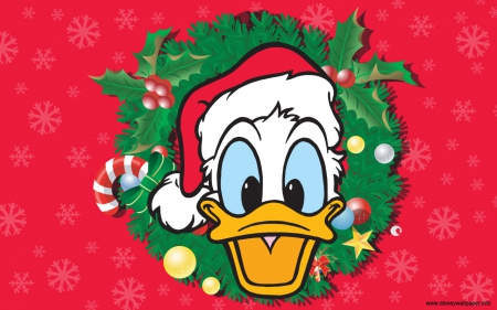 Donald Duck Christmas.Donald Duck Christmas Movies Entertainment Background