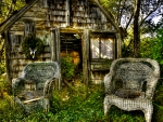 OLD CHAIRS at the BARN