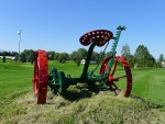 Vintage Farm Sickle Mower
