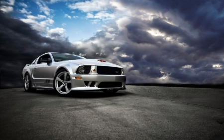 Saleen Ford Mustang S281 - saleen, custom, silver, 281, mustang, ford, car, s281, muscle car, fast
